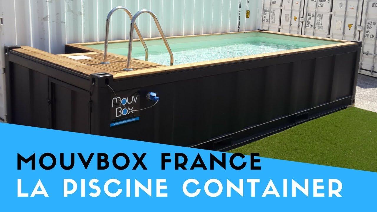 Piscine En Container Maritime dedans Piscine Conteneur