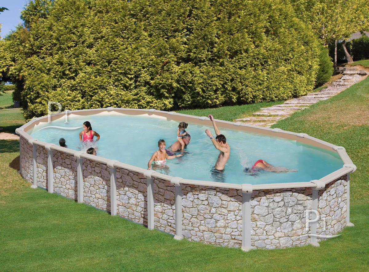 Piscine-France - Piscine Hors Sol En Acier Mykonos 610 encequiconcerne Piscine Plaisir