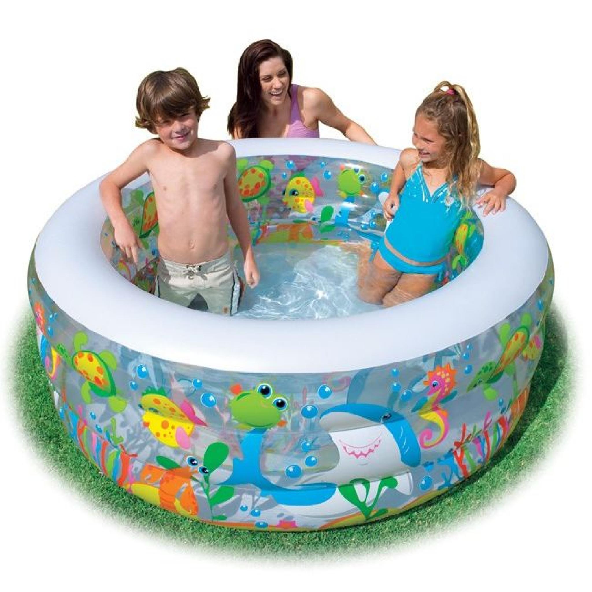 Piscine Gonflable Aquarium Intex à Piscine Enfant Pas Cher