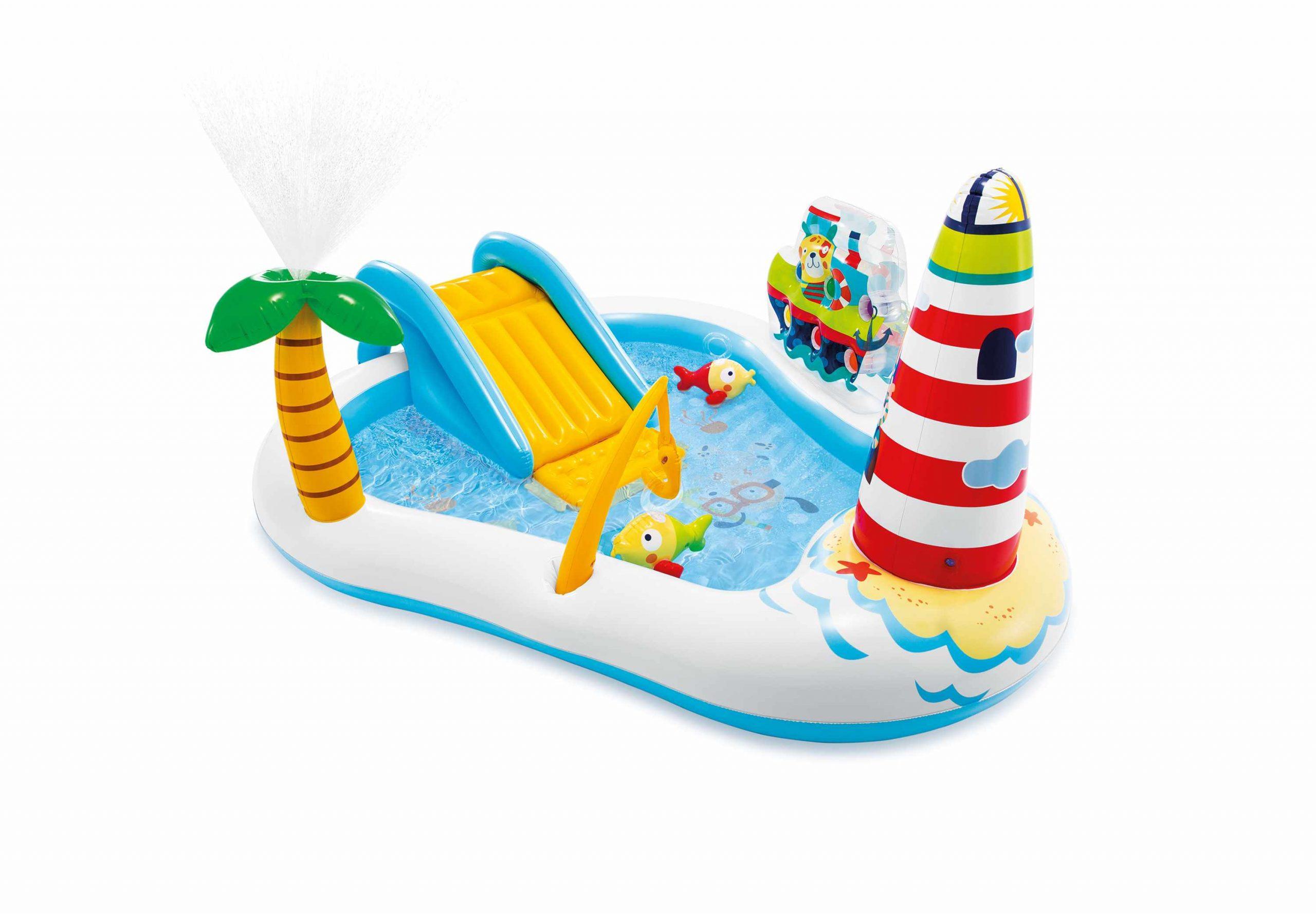 Piscine Gonflable Pour Enfants Intex 57162 Fishing Fun Play Center serapportantà Piscine Enfant Intex