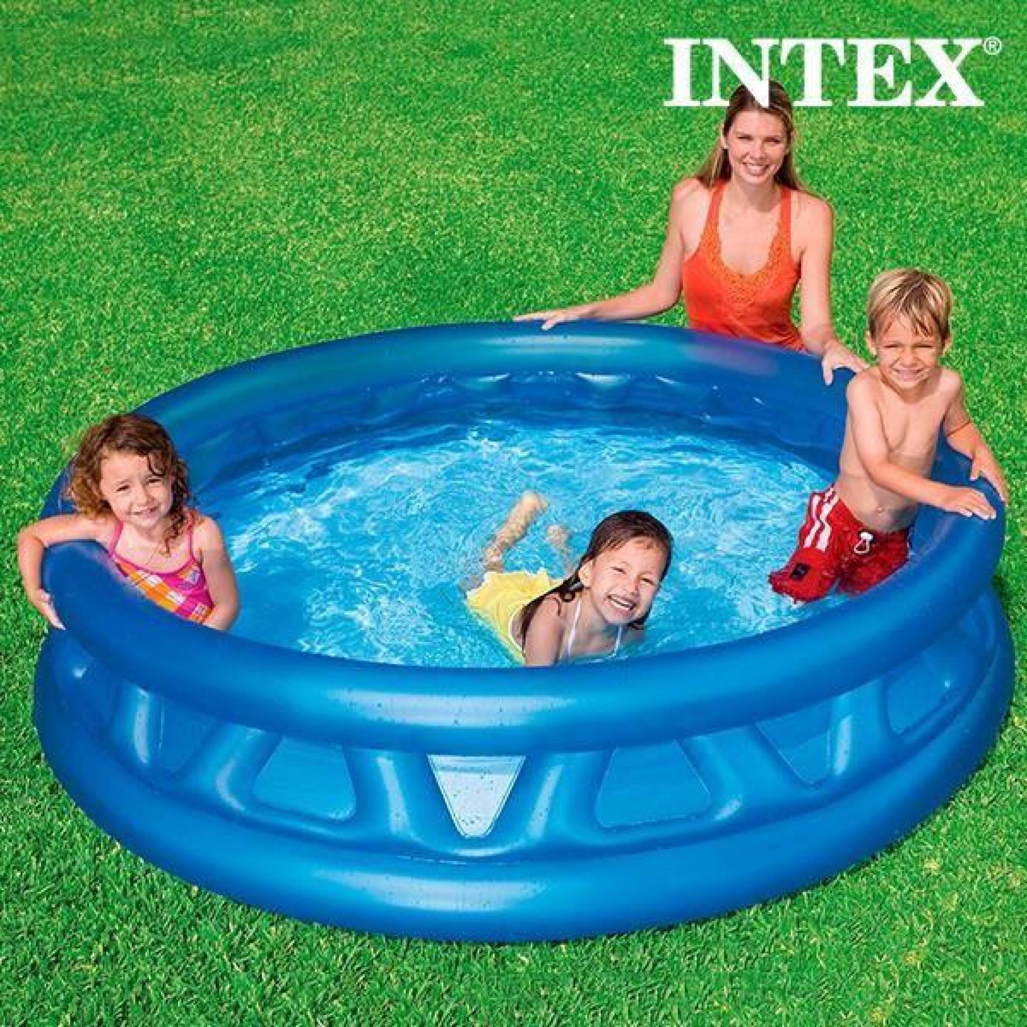 Piscine Gonflable Pour Enfants Intex (Ø 188 Cm) - Achat ... pour Piscine Enfant Pas Cher