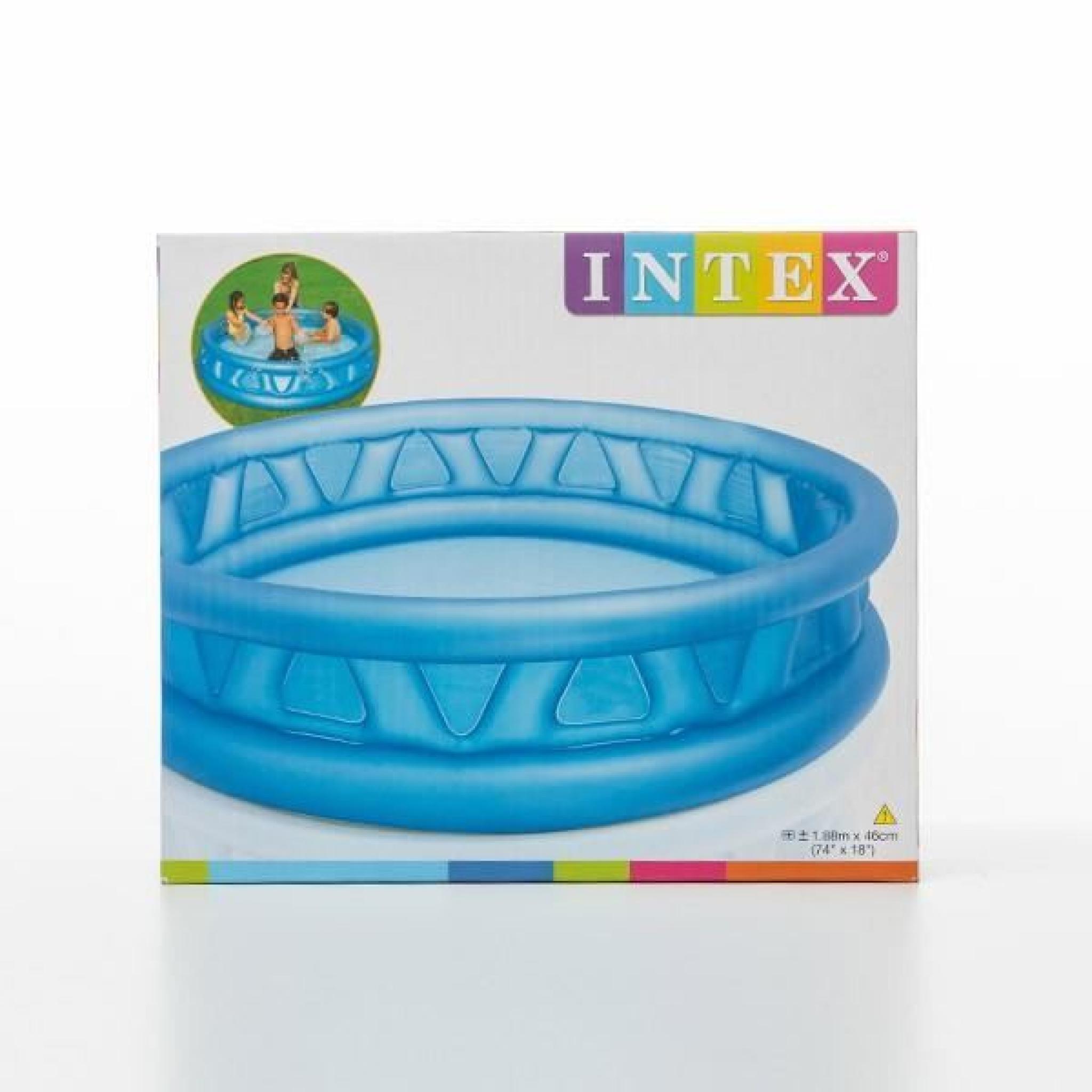 Piscine Gonflable Pour Enfants Intex (Ø 188 Cm) dedans Piscine Enfant Intex