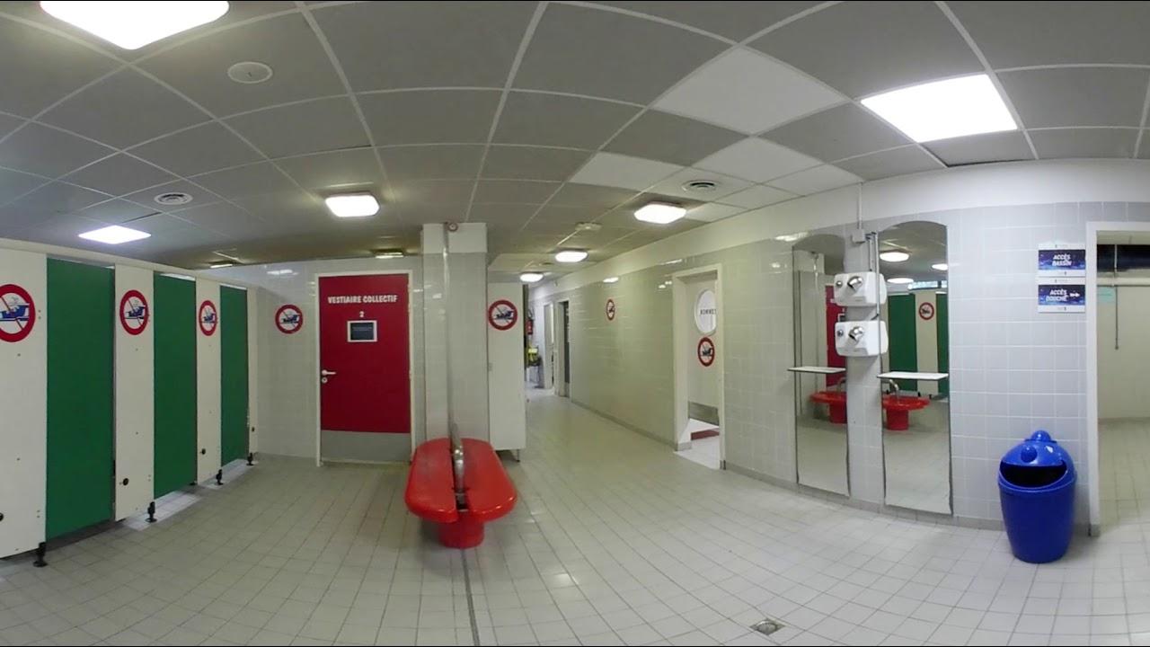Piscine Guy Bey / Vestiaire - Vert Marine - Meudon - Vr 360 pour Vestiaire Piscine