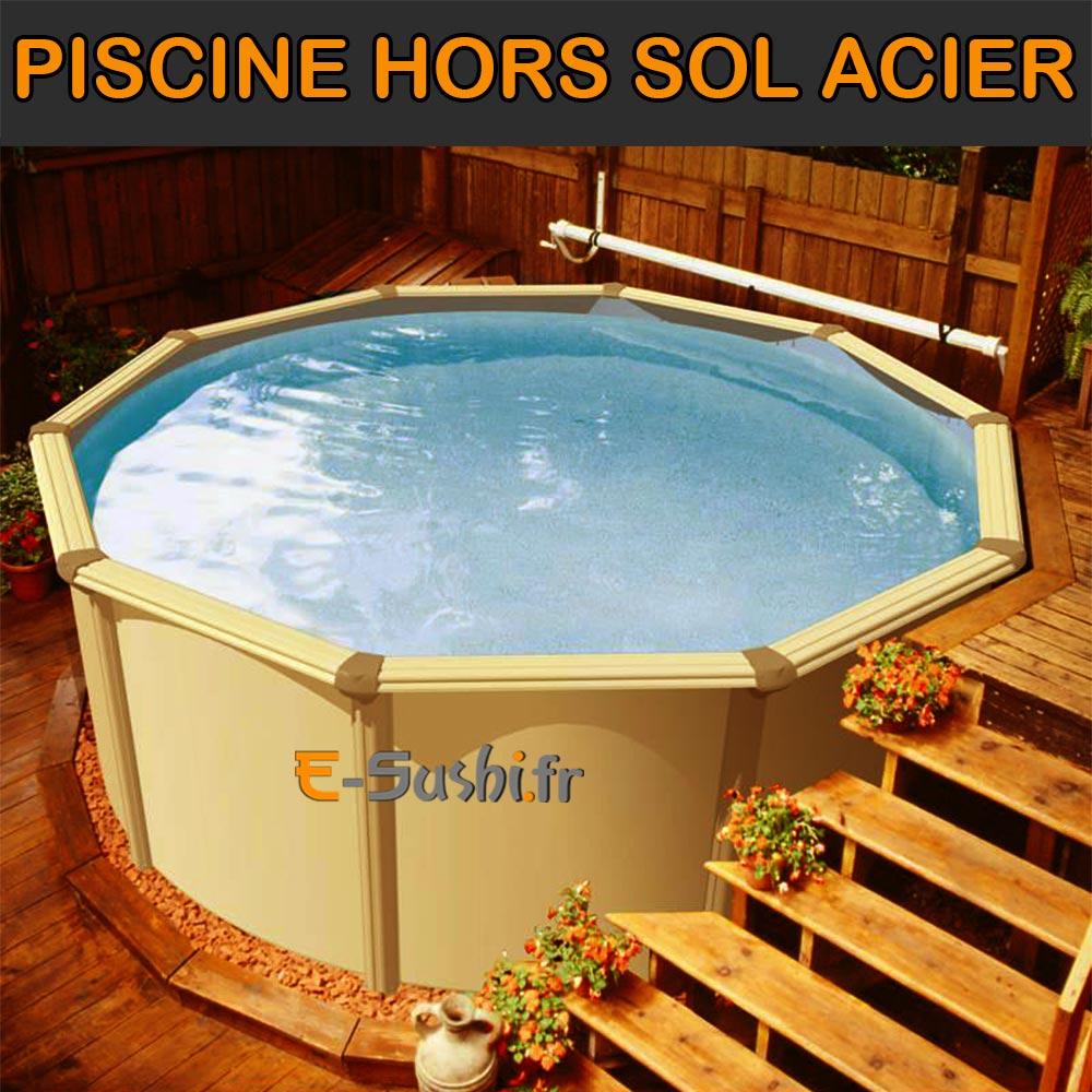 Piscine Hors Sol Acier, Métal Ou Bois - Images - Arts Et Voyages tout Piscine Gonflable Castorama
