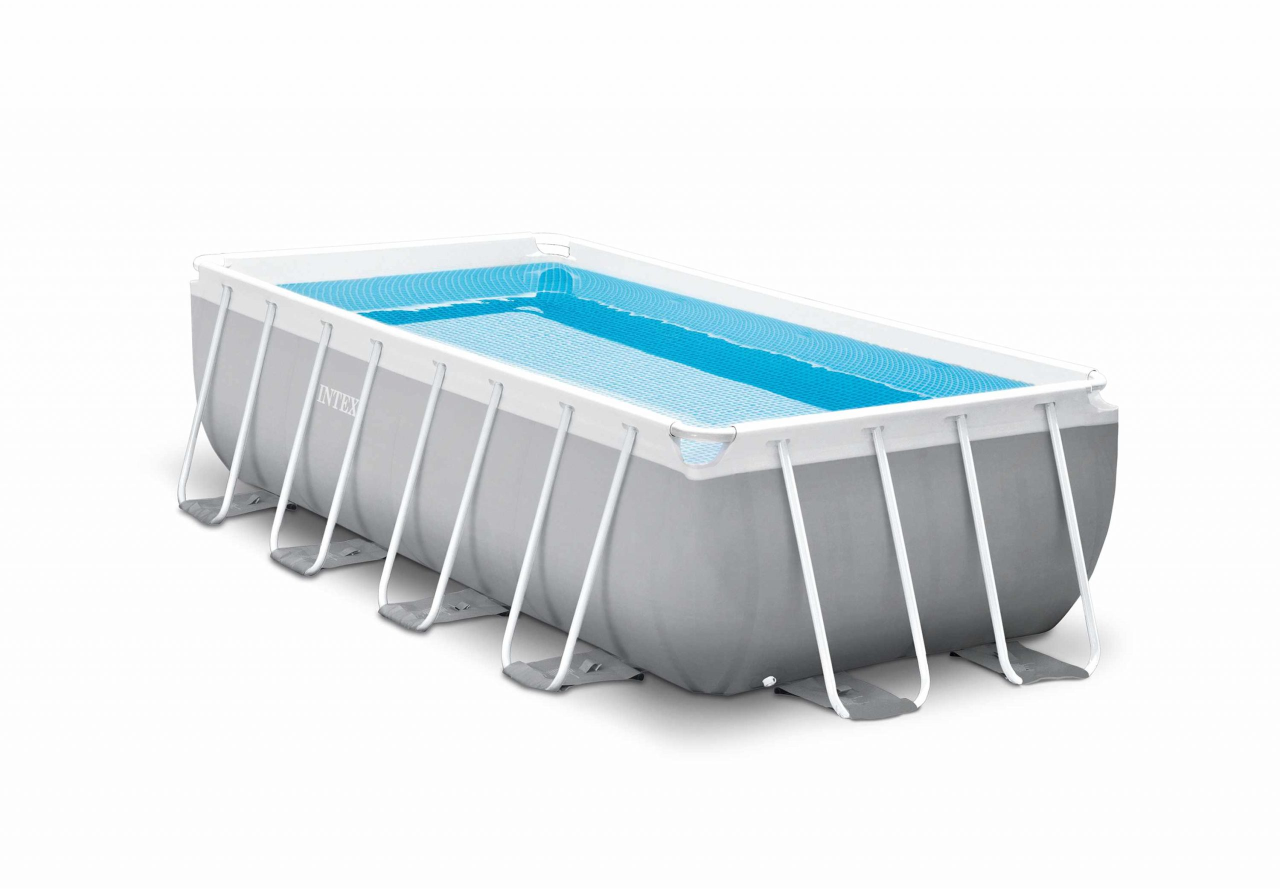 Piscine Hors-Sol Autoportante Intex 26788 Ex 26776 Rectangulaire Prism  Frame 400 X 200 X 100 Cm pour Piscine Hors Sol Rectangulaire Intex