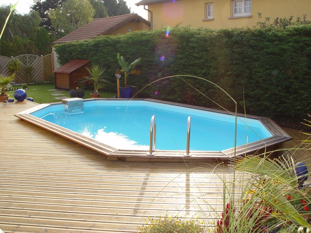Piscine Hors Sol Bois - Hydro Sud Belfort | Piscines ... tout Piscine Hors Sol Composite