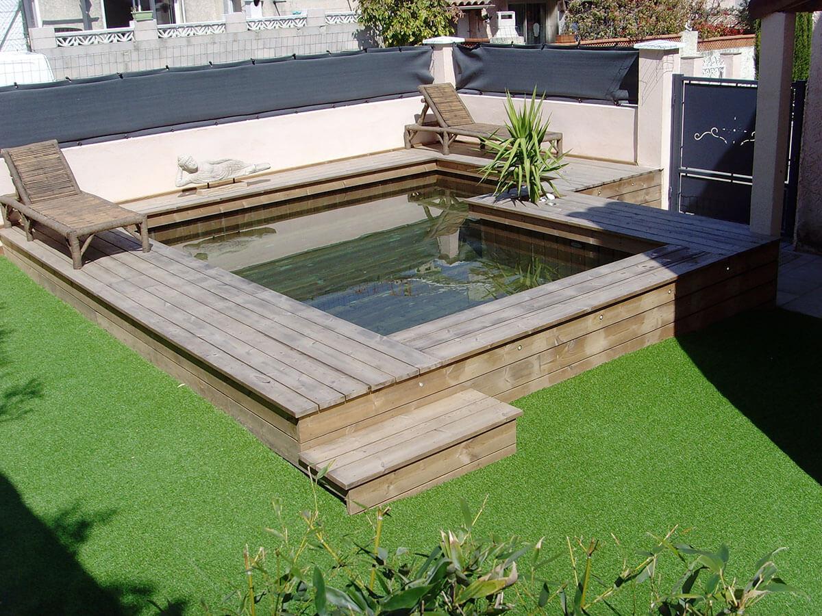 Piscine Hors Sol Terrasse Conception - Idees Conception Jardin pour Mini Piscine Hors Sol