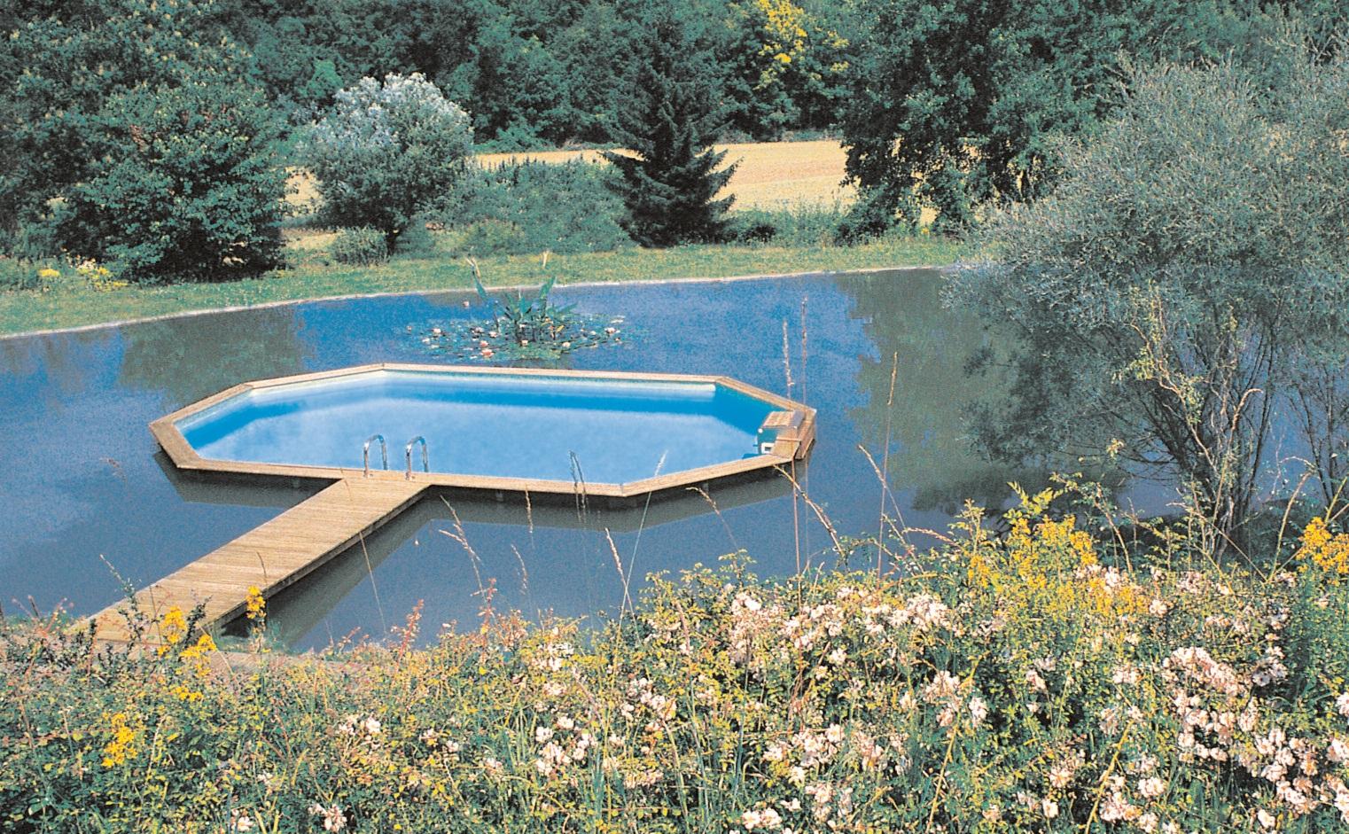 Piscine Hors-Sol : Une Oasis De Fraîcheur encequiconcerne Piscine À Monter Soi Même