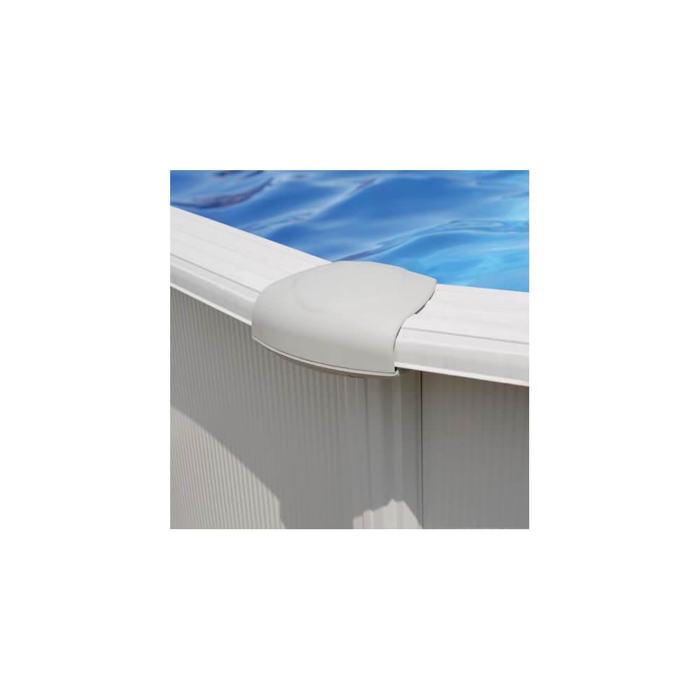 Piscine Hors-Sol Varadero 505 X 345 H122 Cm - Filtre À Sable intérieur Piscine Hors Sol Gre