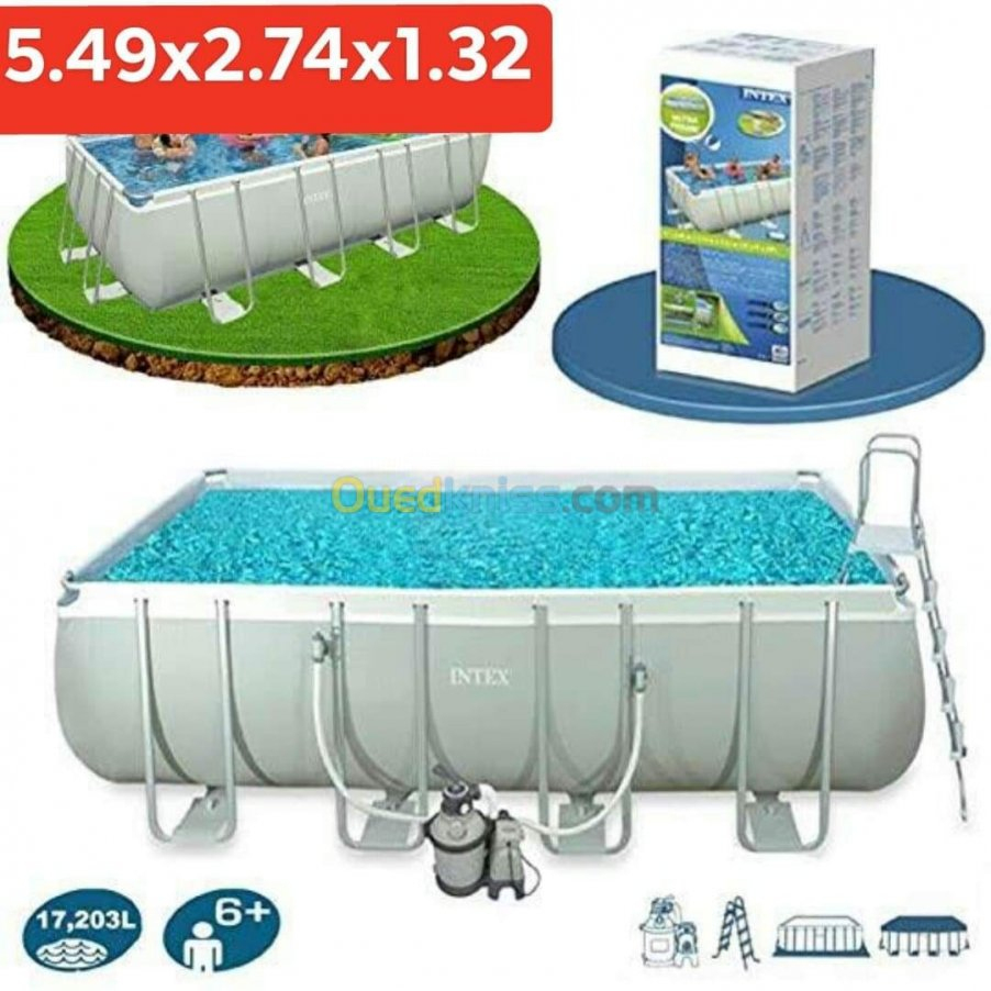 Piscine Intex Algiers Bab Ezzouar Algeria | Sell Buy destiné Piscine Intex 3.66