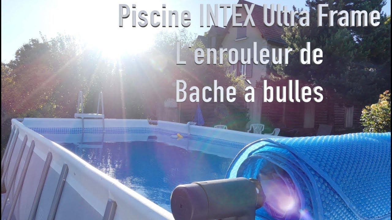 Piscine Intex : Enrouleur De Bache À Bulles dedans Enrouleur Bache Piscine Hors Sol Tubulaire Intex