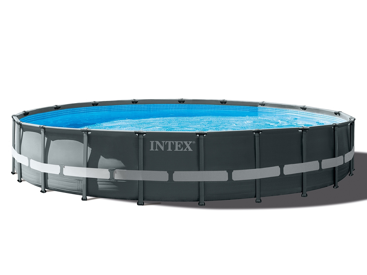 Piscine Intex Tubulaire Ultra Xtr Frame | Forme Ronde | 7,32 ... destiné Piscine Tubulaire Rectangulaire 1M22