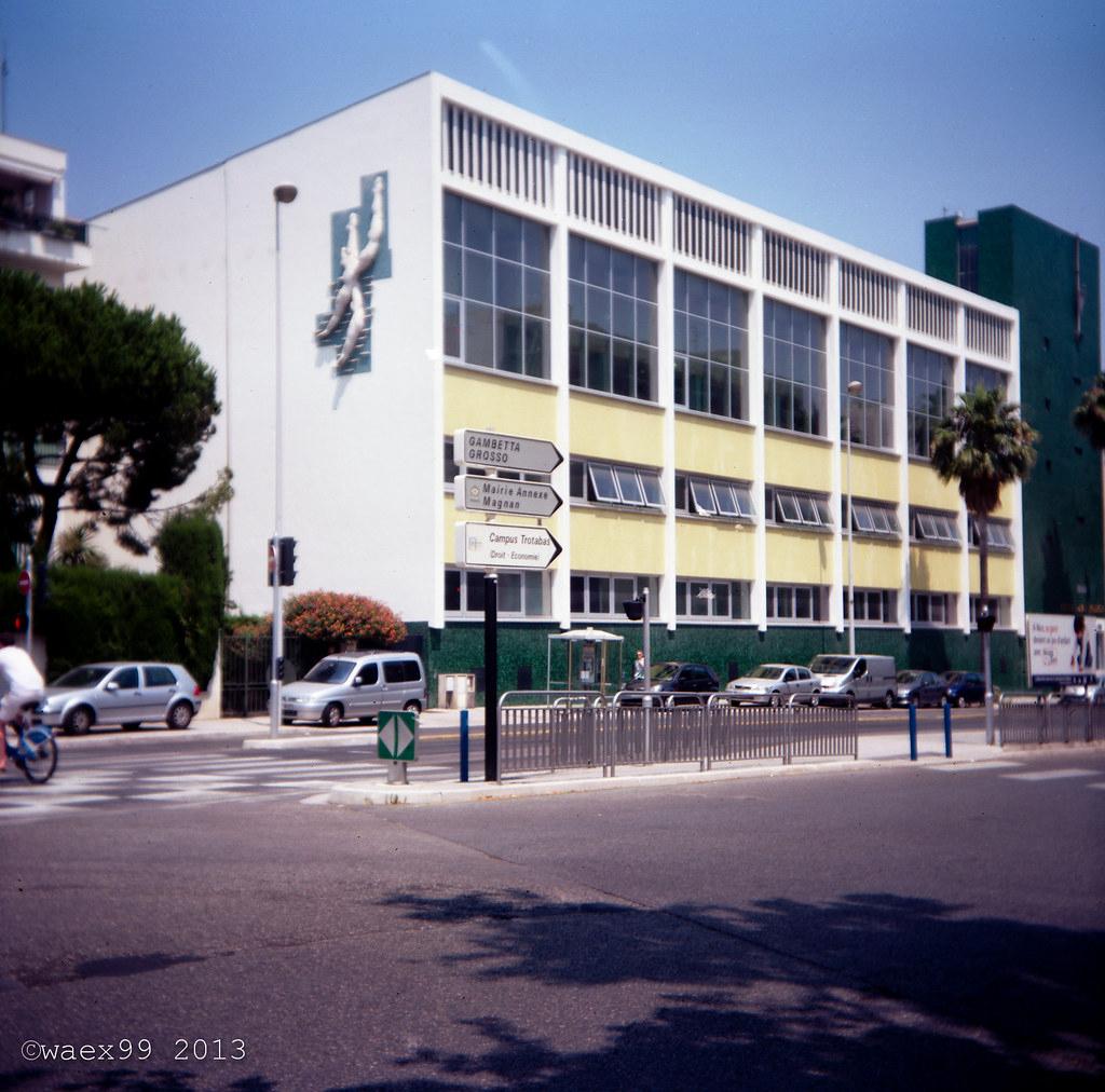 Piscine Jean-Médecin - Nice   Camera:dacora Digna Film: Koda ... avec Piscine Magnan Nice