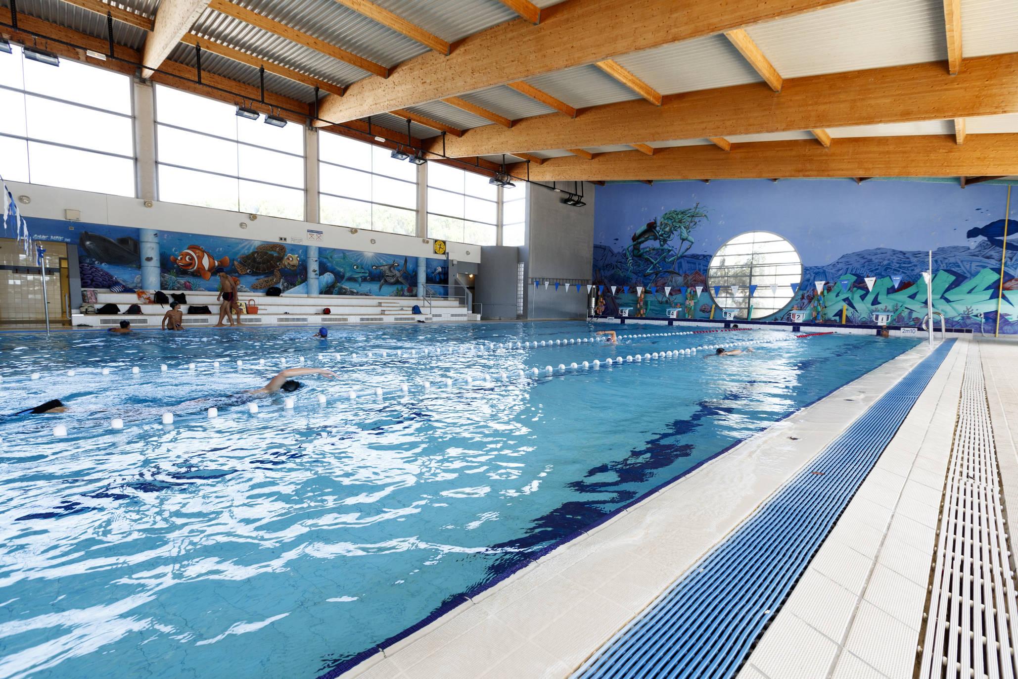 Piscine Marcel Spilliaert (Chamberte), Swimming-Pool ... serapportantà Piscine St Marcel