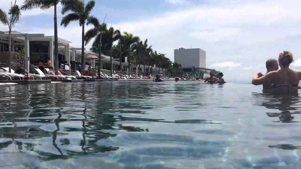 Piscine - Marina Bay Sands Singapour tout Piscine Singapour