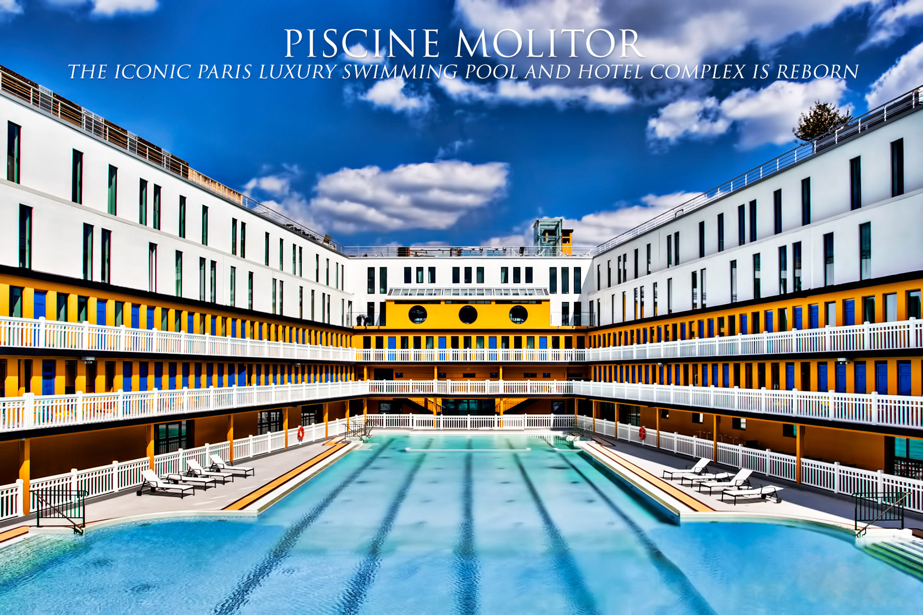 Piscine Molitor – The Iconic Paris Luxury Swimming Pool And ... destiné Hotel Paris Piscine