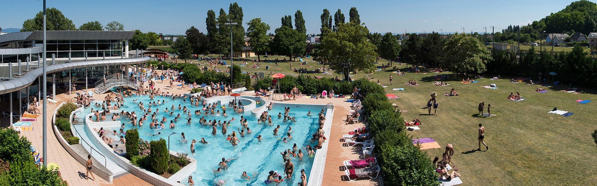 Piscine Mulhouse, Stade Nautique, Plan D'eau | M2A encequiconcerne Piscine De Rixheim
