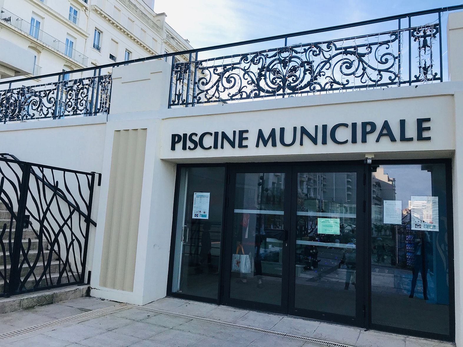 Piscine Municipale De Biarritz | Office De Tourisme Biarritz serapportantà Piscine Municipale Biarritz