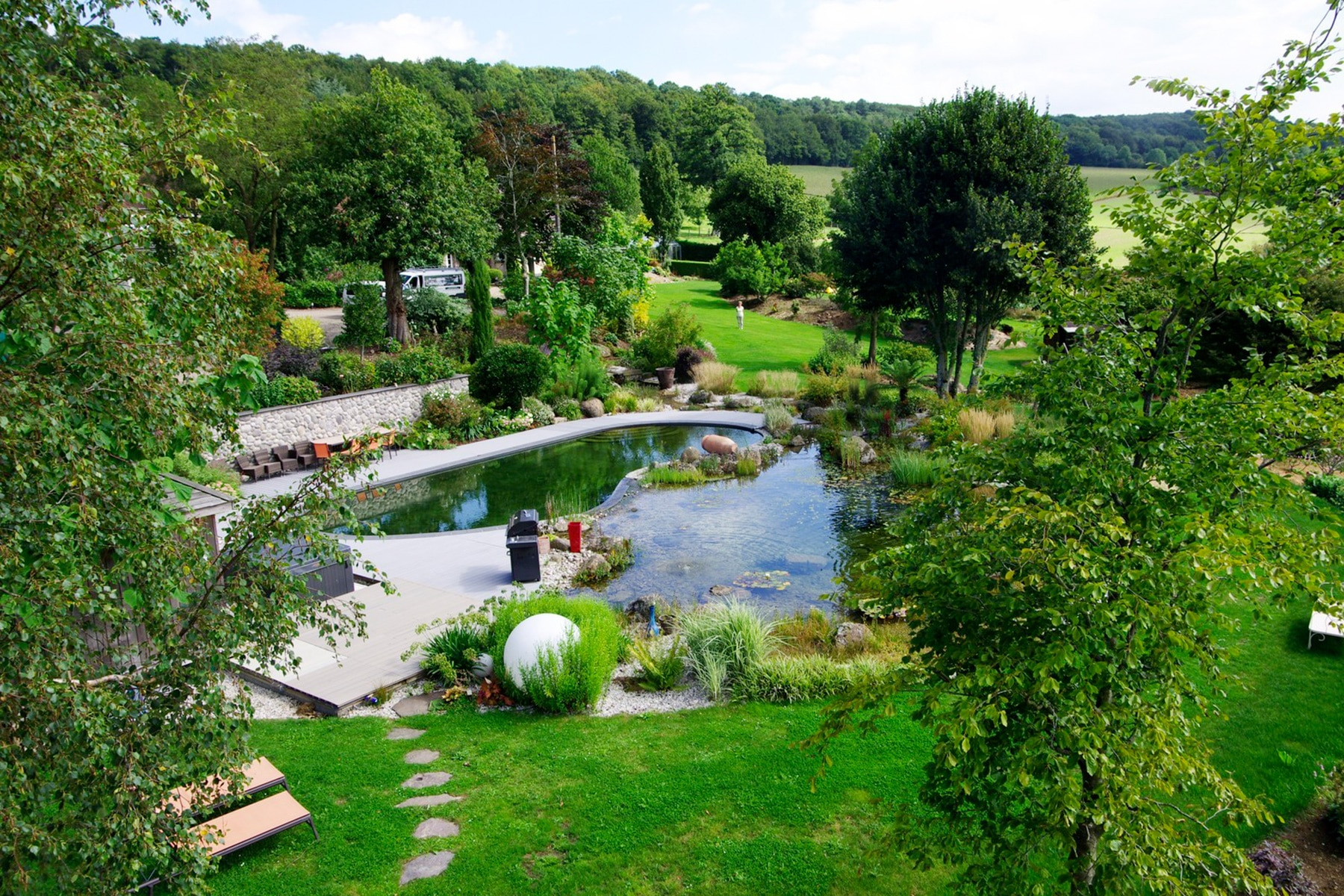 Piscine Naturelle - Bassin De Baignade Naturel | Paysages ... encequiconcerne Piscine Naturelle En Kit