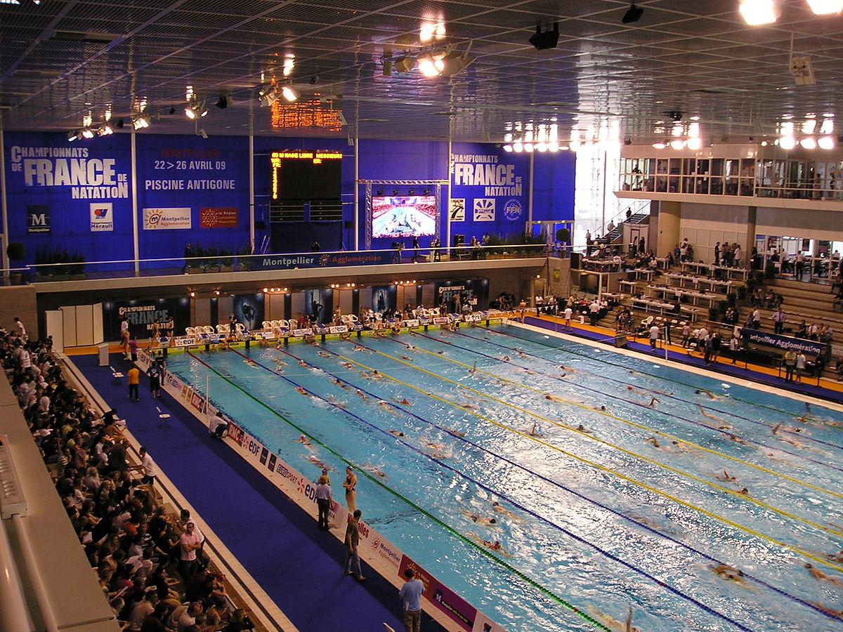 Piscine Olympique D'antigone — Wikipédia encequiconcerne Piscine Montpellier Antigone