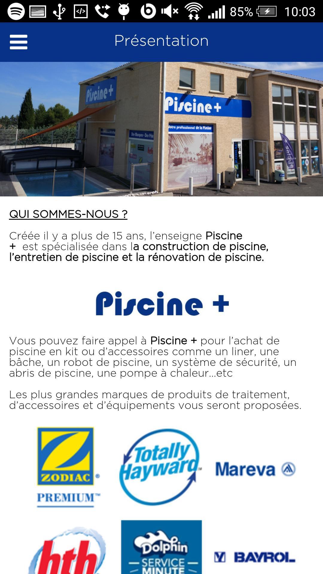 Piscine Plus For Android - Apk Download avec Piscine Plus Le Cres