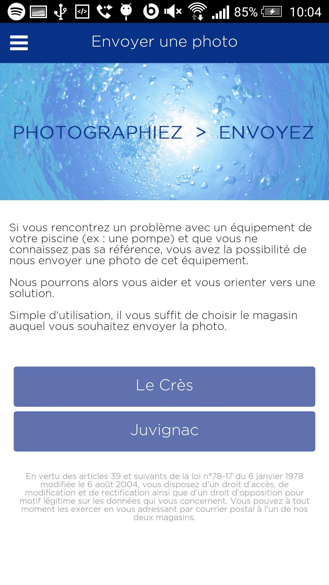 Piscine Plus For Android - Apk Download encequiconcerne Piscine Plus Le Cres