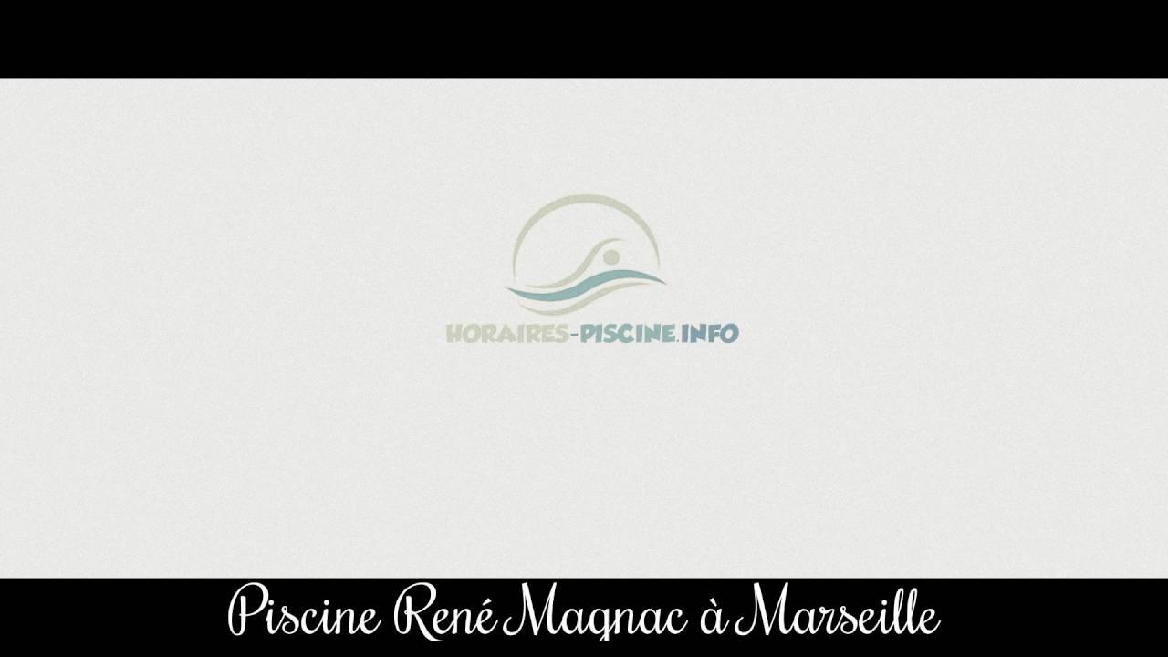 Piscine René Magnac À Marseille tout Piscine René Magnac