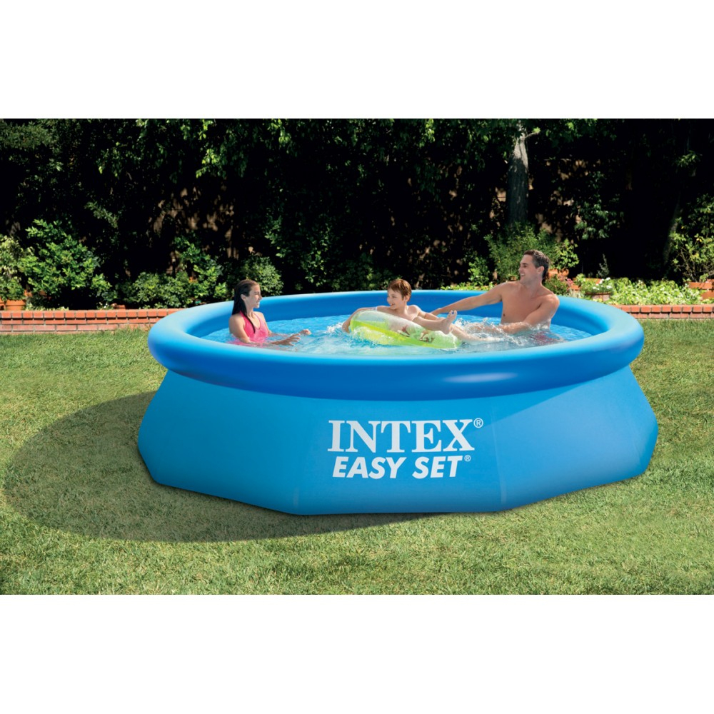 Piscine Ronde Intex Easy Set 305X76Cm à Piscine Boudin