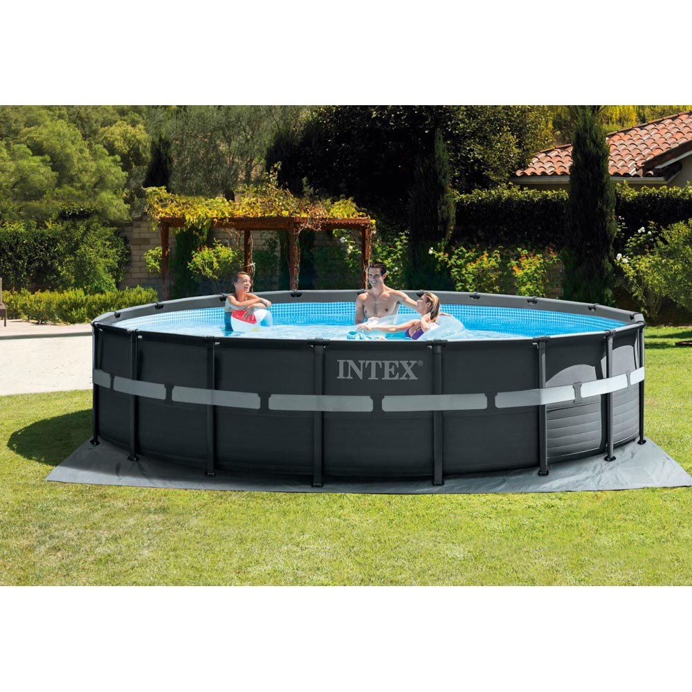 Piscine Ronde Tubulaire Intex Ultra Xtr Ø 549 X 132 Cm pour Piscine Hors Sol Intex Tubulaire