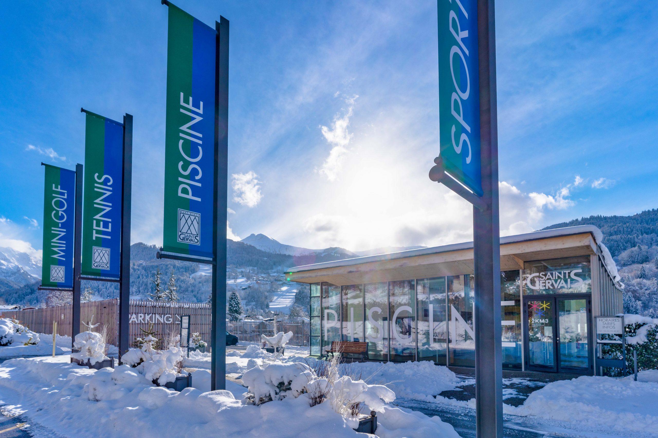 Piscine - Saint-Gervais Mont-Blanc - Montagne, Glisse ... tout Piscine Saint Gervais Les Bains