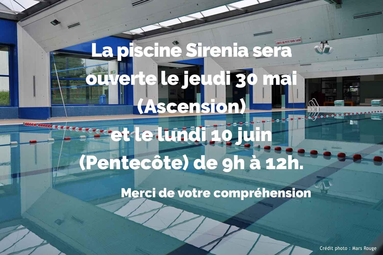 Piscine Sirénia - Pays Rhin-Brisach avec Piscine Sirenia