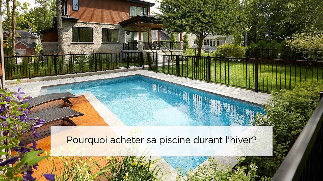 Piscine & Spa Trévi - Pourquoi Acheter Sa Piscine Durant L'hiver? tout Acheter Une Piscine