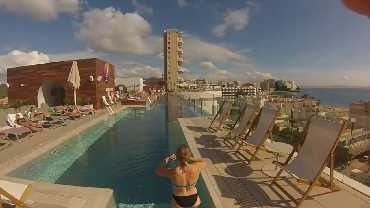 Piscine Suspendue Hotel Calvia Beach The Plaza Majorque ... tout Piscine Suspendue
