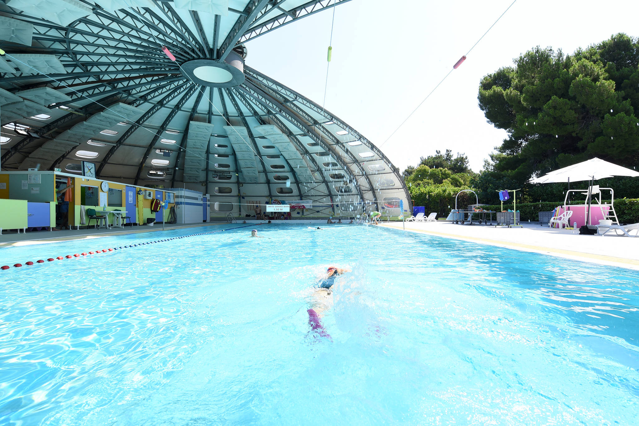 Piscine Suzanne Berlioux (La Rauze), Swimming-Pool ... avec Piscine Originale