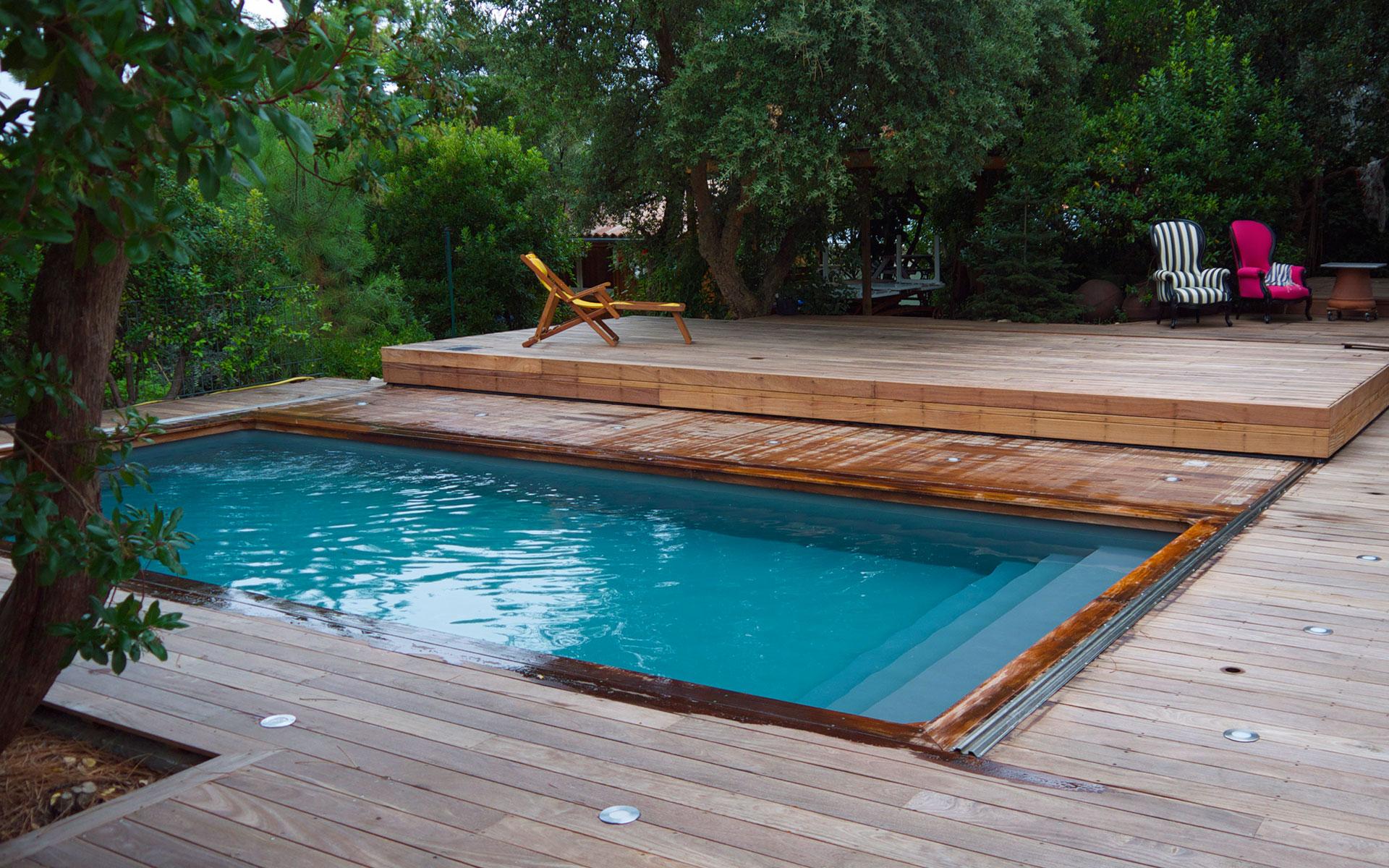 Piscine Terrasse Mobile Schème - Idees Conception Jardin pour Fabriquer Une Terrasse Mobile Pour Piscine