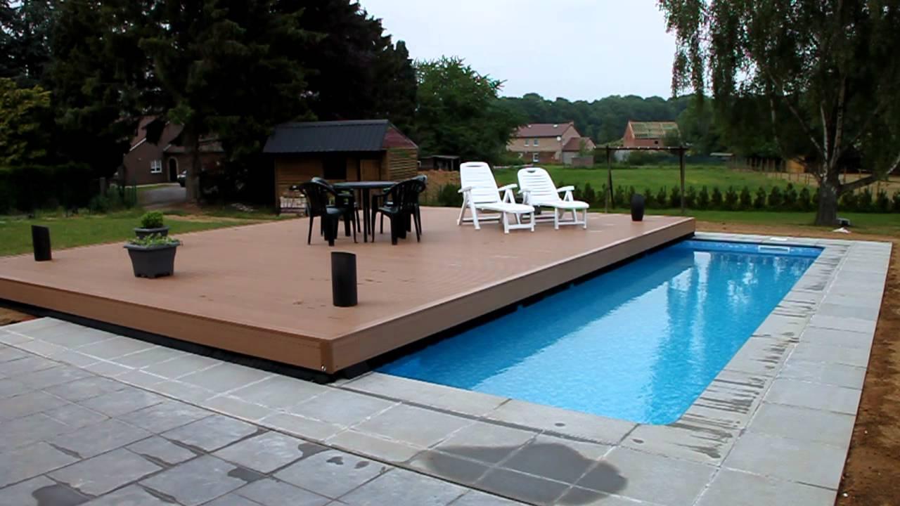 Piscine + Terrasse tout Fabriquer Une Terrasse Mobile Pour Piscine