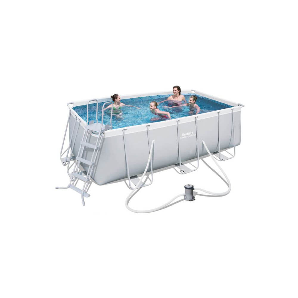 Piscine Tubulaire 412 X 201 X H122 Cm - Power Steel serapportantà Piscine Bestway Avis