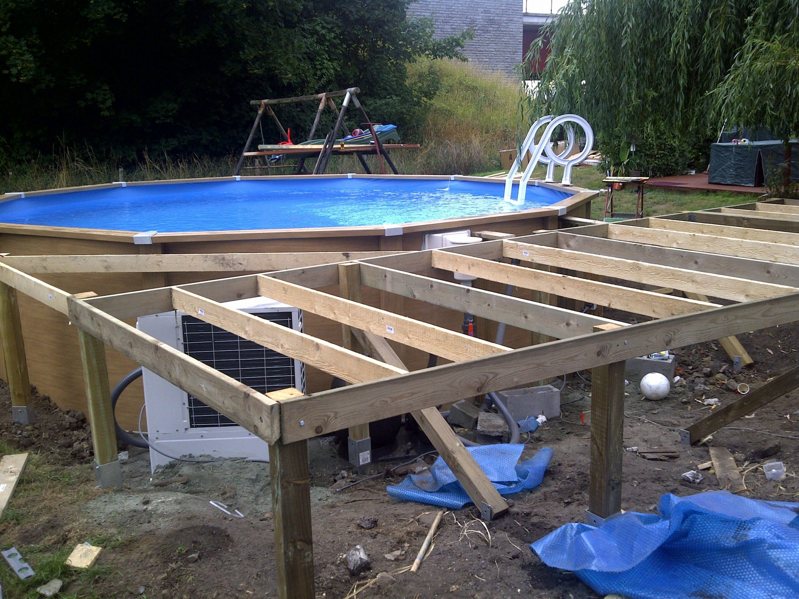 Piscine Tubulaire Intex Castorama | Diy Swimming Pool ... concernant Piscine Hors Sol Intex Tubulaire