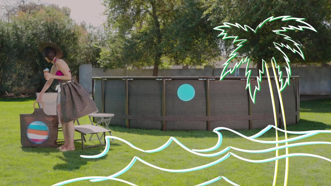 Piscine Tubulaire Power Steel Swim Vista Pool destiné Azialo Piscine