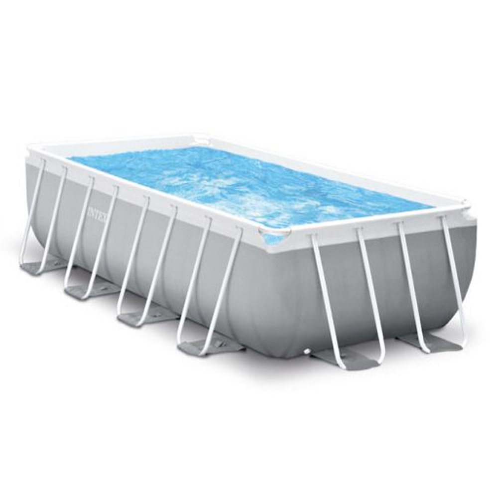 Piscine Tubulaire Rectangulaire Prism Frame Intex 4.88 X 2.44 X 1.07 M à Piscine Tubulaire Carrée