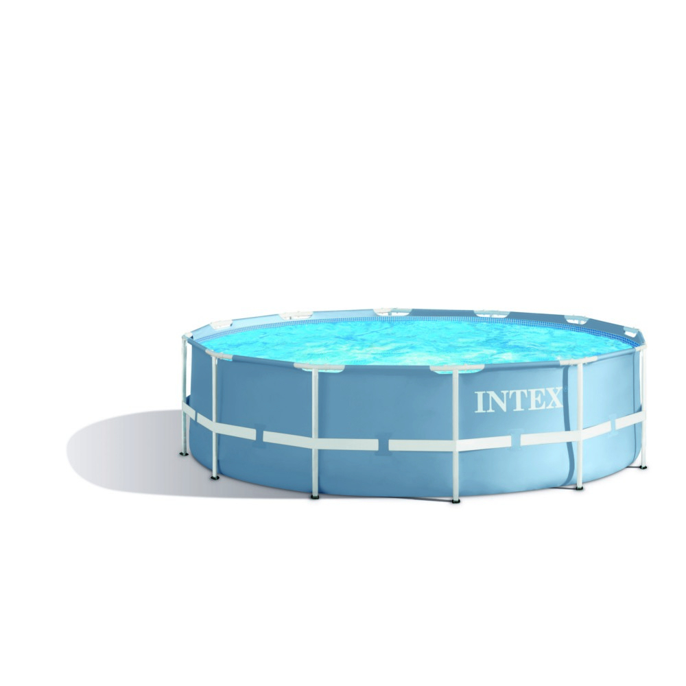 Piscine Tubulaire Ronde Intex Diamètre 3.66M X 99 Cm dedans Piscine Intex 3.66