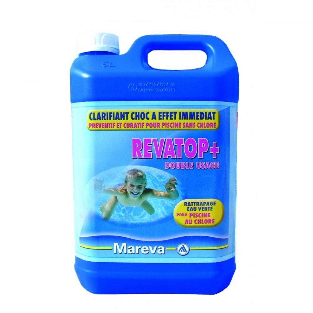 Piscine Verte : Revatop 5 L : La Solution Miracle ... destiné Peroxyde D Hydrogène Piscine