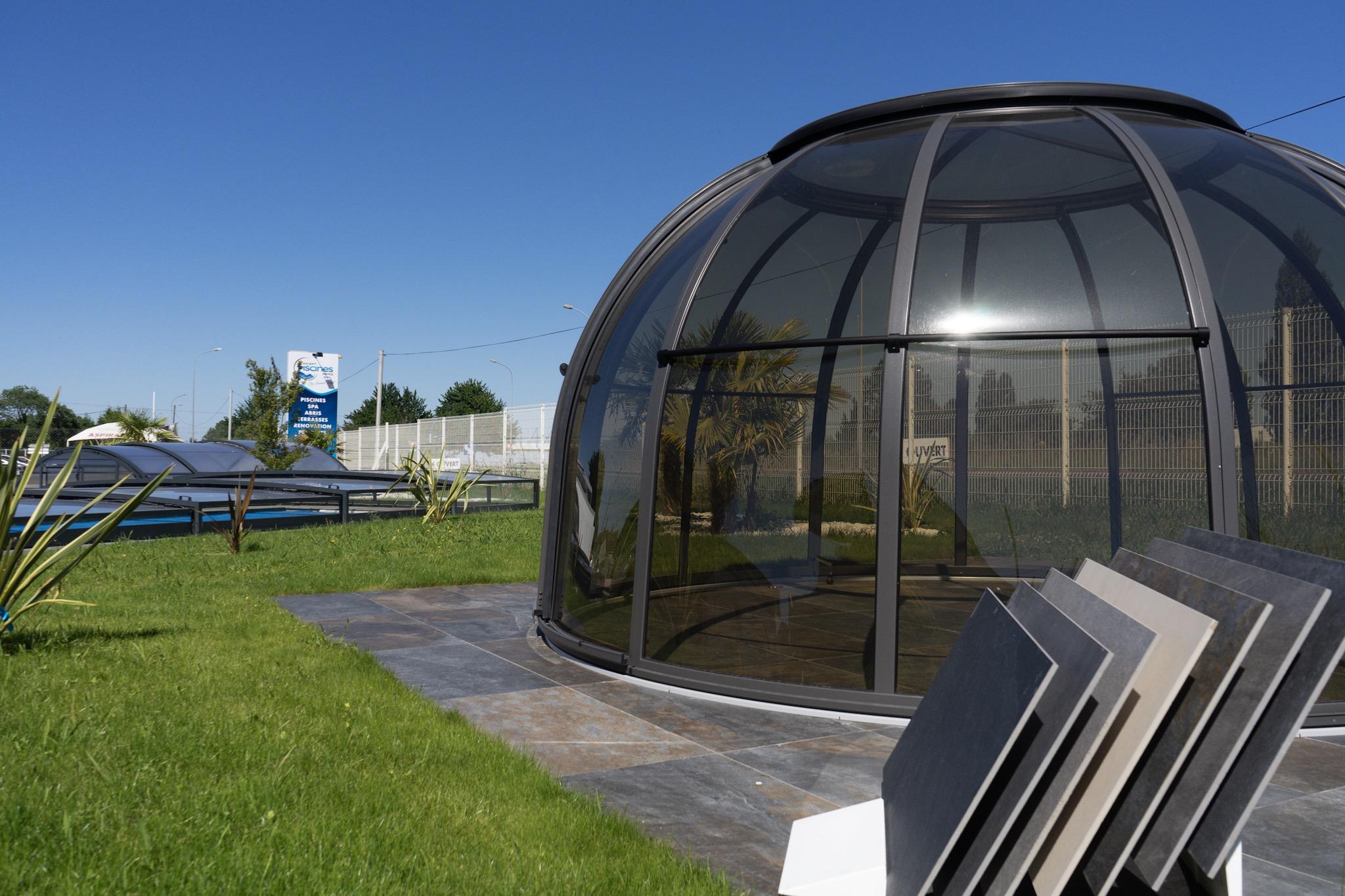 Piscines - Concept Piscines Abris intérieur Dome Piscine Hors Sol