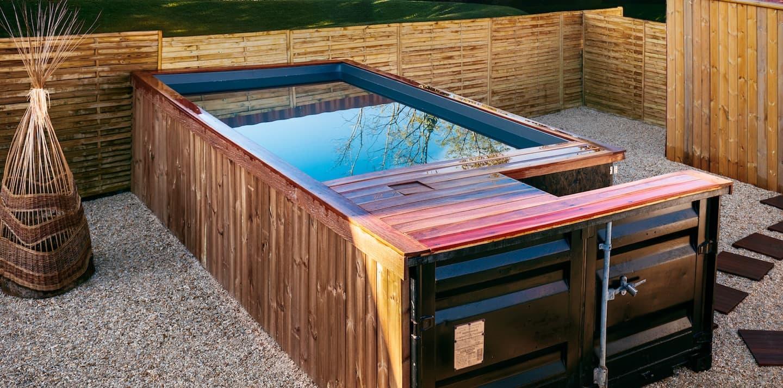 Piscines En Container Dès 7990€, Livrée Rapidement - Pool ... pour Piscine Conteneur