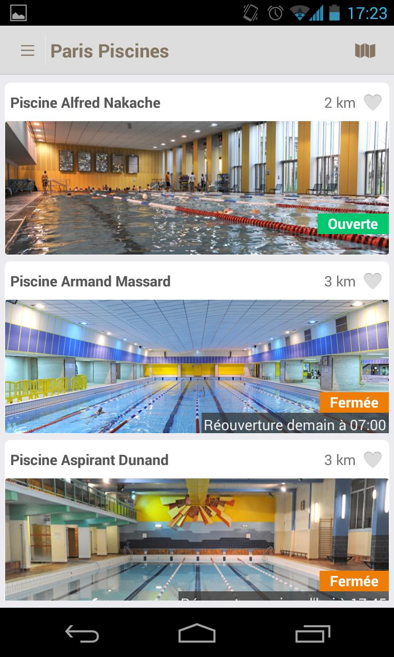 Piscines For Android - Apk Download pour Piscine Dunand