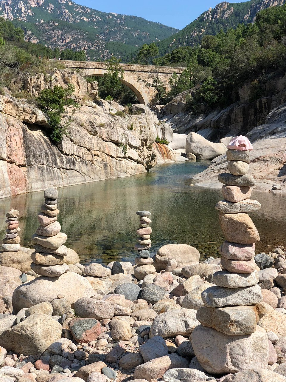Piscines Naturelles De Cavu (Sainte-Lucie-De-Porto-Vecchio ... serapportantà Piscine Naturelle D Eau Chaude Corse Du Sud