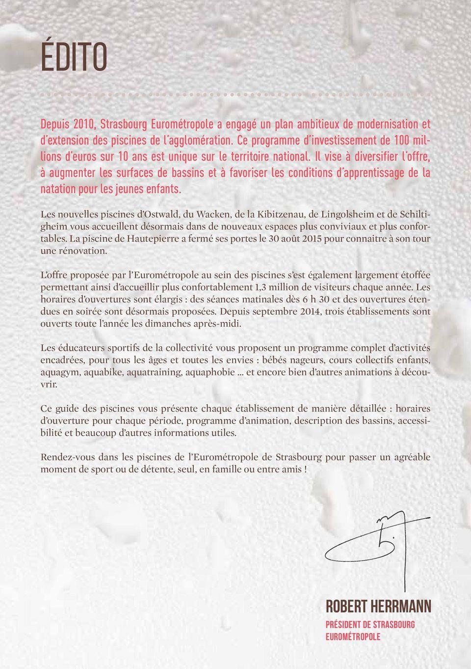 Piscines Tout Un Monde À Découvrir - Pdf Free Download dedans Piscine Lingolsheim Horaires