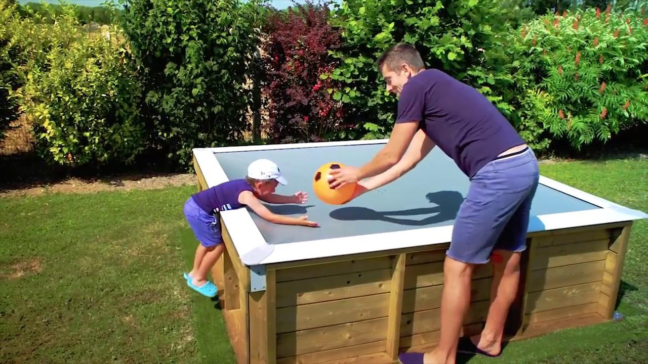 Pistoche Little Pool W/ Sliding Safety Cover - Mypooldirect.co.uk tout Piscine Pistoche