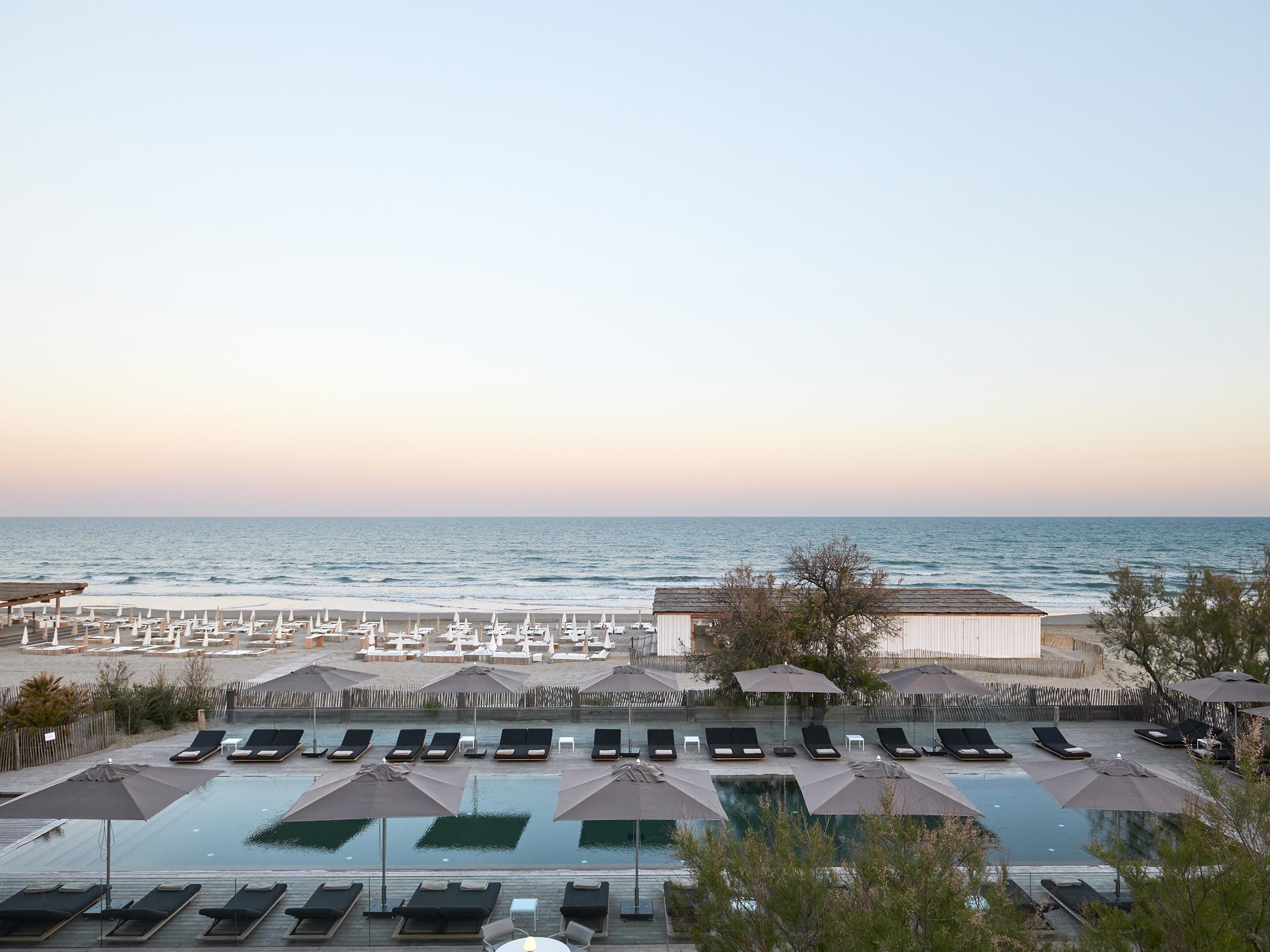 Plage Palace | 5-Star Luxury Spa Hotel South Of France, On ... serapportantà Hotel Avec Piscine Ile De France