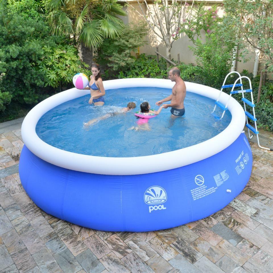 Plastic Garden Pool Make Family Atmosphere More Cheerful avec Piscine Autostable